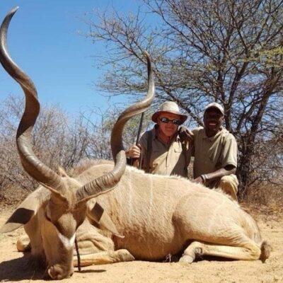 Vadászat Namíbiában