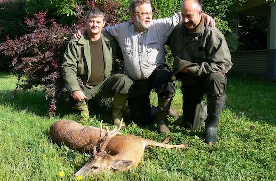 Őzbak vadászat Tiszafüreden